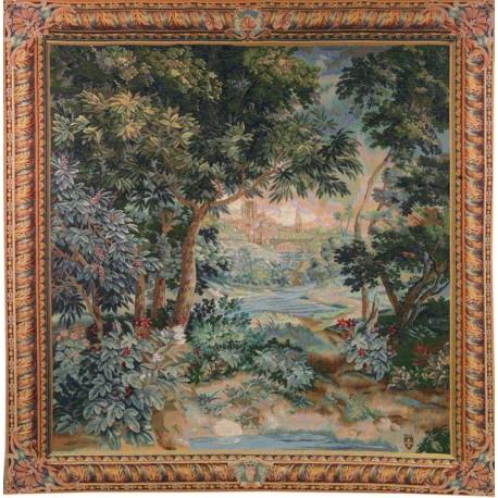 Verdure Cascade, Tapisserie Art de Lys