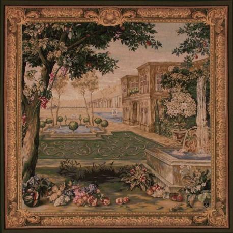 Fontaine Verdoyante, Tapisserie Art de Lys