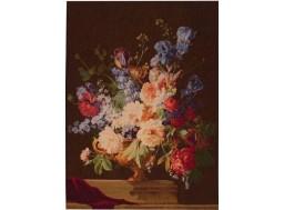 Bouquet Iris Foncé