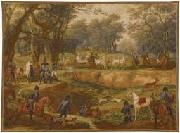 Chasse Napoléonienne, tapisserie