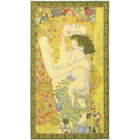 Klimt Les 3 âges de la femme, Tapisserie Metrax / Craye
