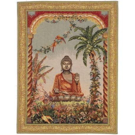 Bouddha, Tapisserie Art de Lys