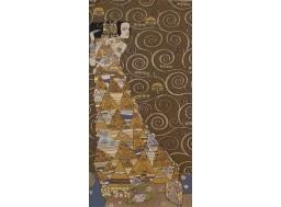 Klimt L'attente (foncé gauche)