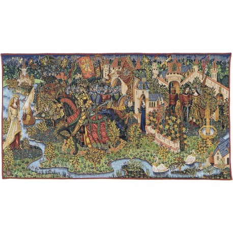 La légende du Roi Arthur, Tapisserie Pansu