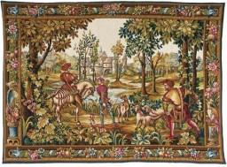 Hunting return tapestry