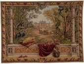 Reproduction de tapisserie ancienne de qualité
