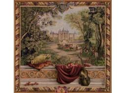 verdure au chateau, tapisserie