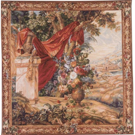 Bouquet in the Drape, Tapisserie Art de Lys