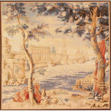 Le Port, Tapisserie Art de Lys