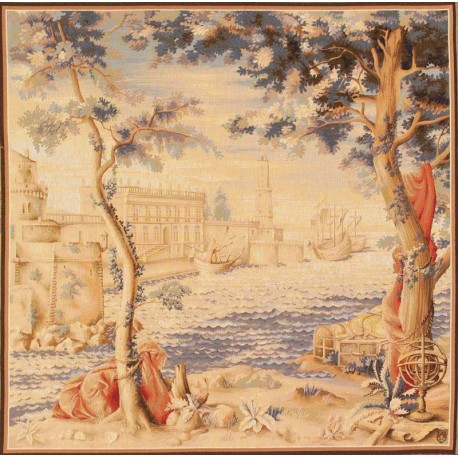 The Port, Tapisserie Art de Lys