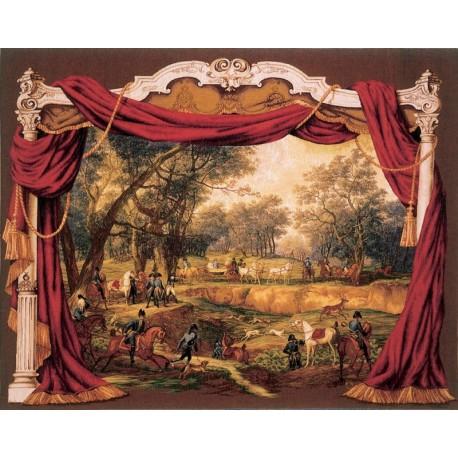 Napoleonian walk, Tapisserie Art de Lys