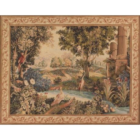 Verdure aux Oiseaux, Tapisserie Art de Lys
