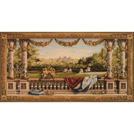 Château Bellevue, Tapisserie Art de Lys