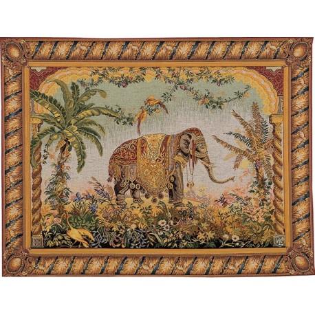 oriental tapestry elephant