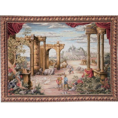 Vue Antique, Tapisserie Art de Lys