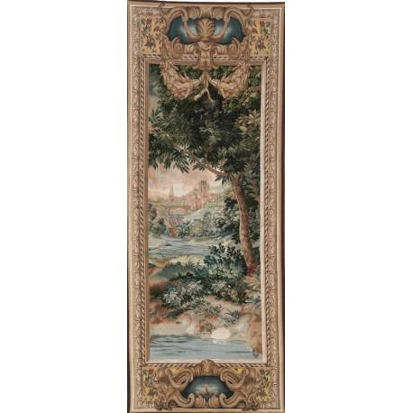 Cascade et Verdure, Tapisserie Art de Lys