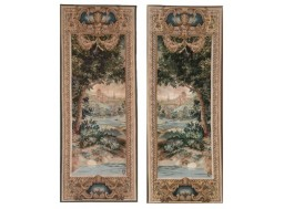 Cascade and Greenery (2 tapestries)