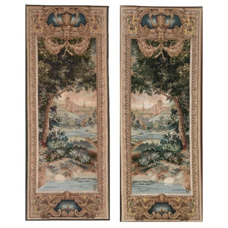 Cascade and Greenery (2 tapestries), Tapisserie Art de Lys