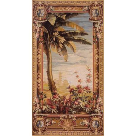 Recolte des Ananas, Tapisserie Art de Lys
