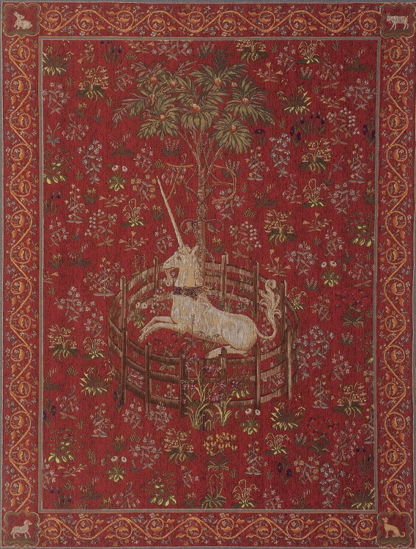 Tapisserie médiévale, Licorne Captive