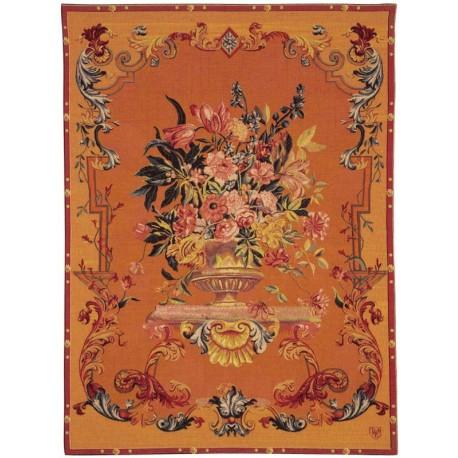 Bouquet XVIIIe, Tapisserie Art de Lys