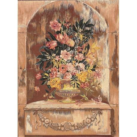 Bouquet Niche, Tapisserie Art de Lys