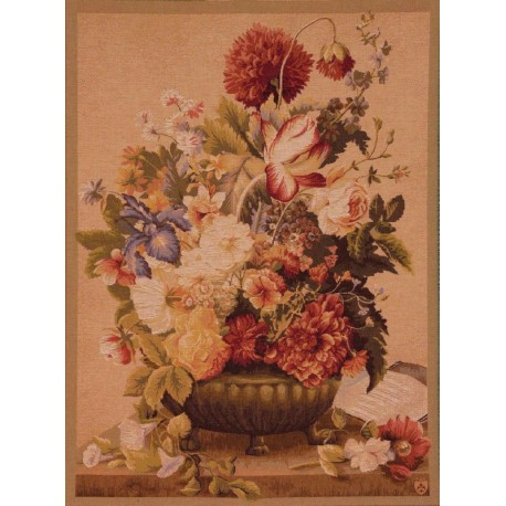 Bouquet Tulipe Clair, Tapisserie Art de Lys