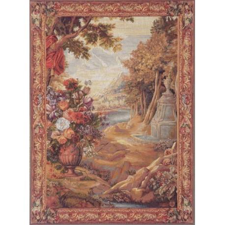 Bouquet au Drapé, Tapisserie Art de Lys