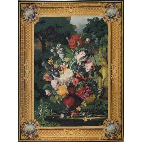 Grand Bouquet Flamand, Tapisserie Art de Lys