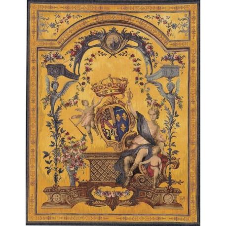 Lady in the Blazon, Tapisserie Art de Lys
