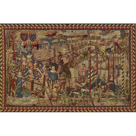 Le Grand Tournoi, Tapisserie Art de Lys