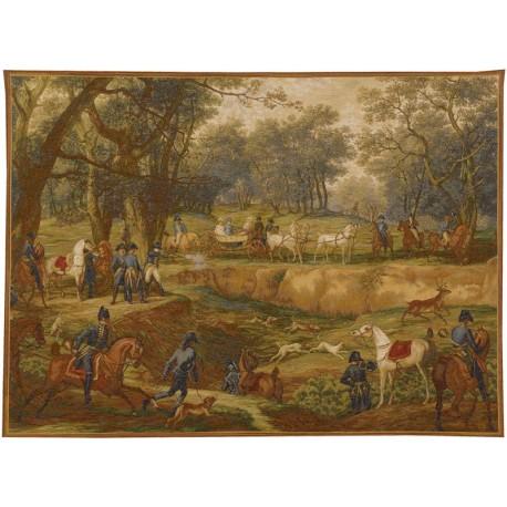 Hunt with Napoleon, Tapisserie Art de Lys