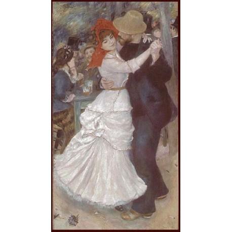 Danse à Bougival - Renoir, Tapisserie Art de Lys