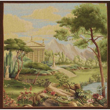Jardin Panoramique, Tapisserie Art de Lys