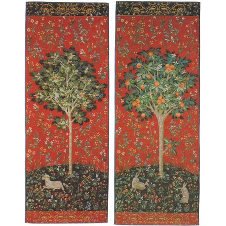 The Unicorn Trees, Tapisserie Art de Lys