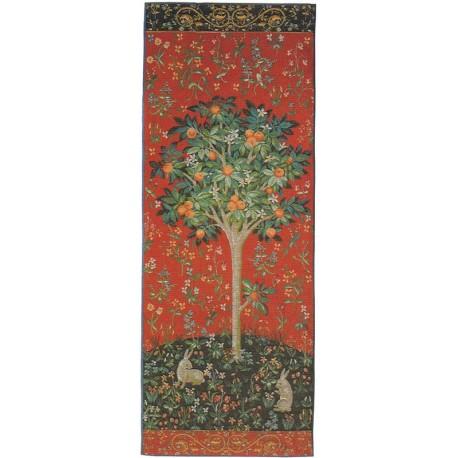 L'arbre et l'oranger - tapisserie Dame à la Licorne