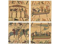 Bayeux - Lot de 4 coussins