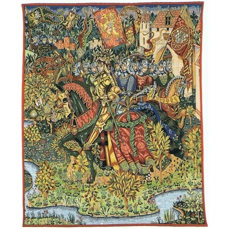 Le Roi Arthur, Tapisserie Jules Pansu