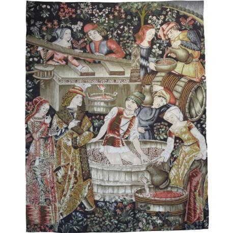 le pressoir, Tapisserie Art de Lys