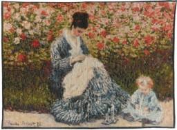 Camille et l'enfant - Monet