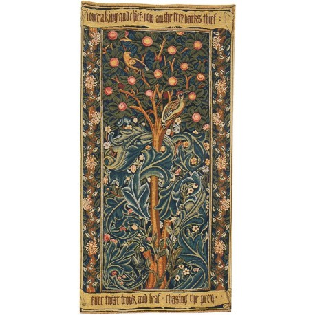 The Woodpecker - William Morris, Tapisserie Art de Lys