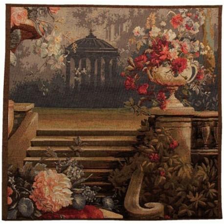 Scène trianon, Tapisserie Art de Lys