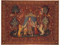 a mon seul desir unicorn tapestry