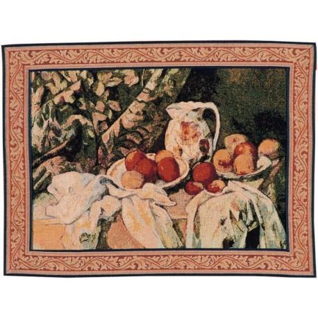 After the meal - Cézanne, Tapisserie Art de Lys