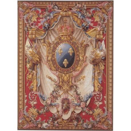 Big coat of arms, Tapisserie Art de Lys