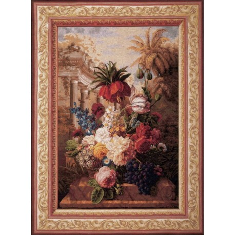 Bouquet Exotique, Tapisserie Art de Lys