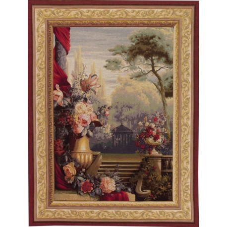 Bouquet Jardin, Tapisserie Art de Lys