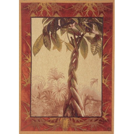 Le Ficus, Tapisserie Art de Lys
