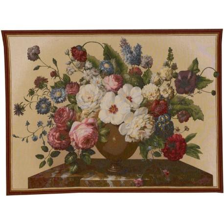Floral composition, Tapisserie Art de Lys