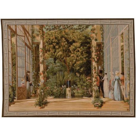 The Napoleonian greenhouse, Tapisserie Art de Lys